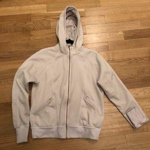 Lululemon hoodie in light pink sz 10
